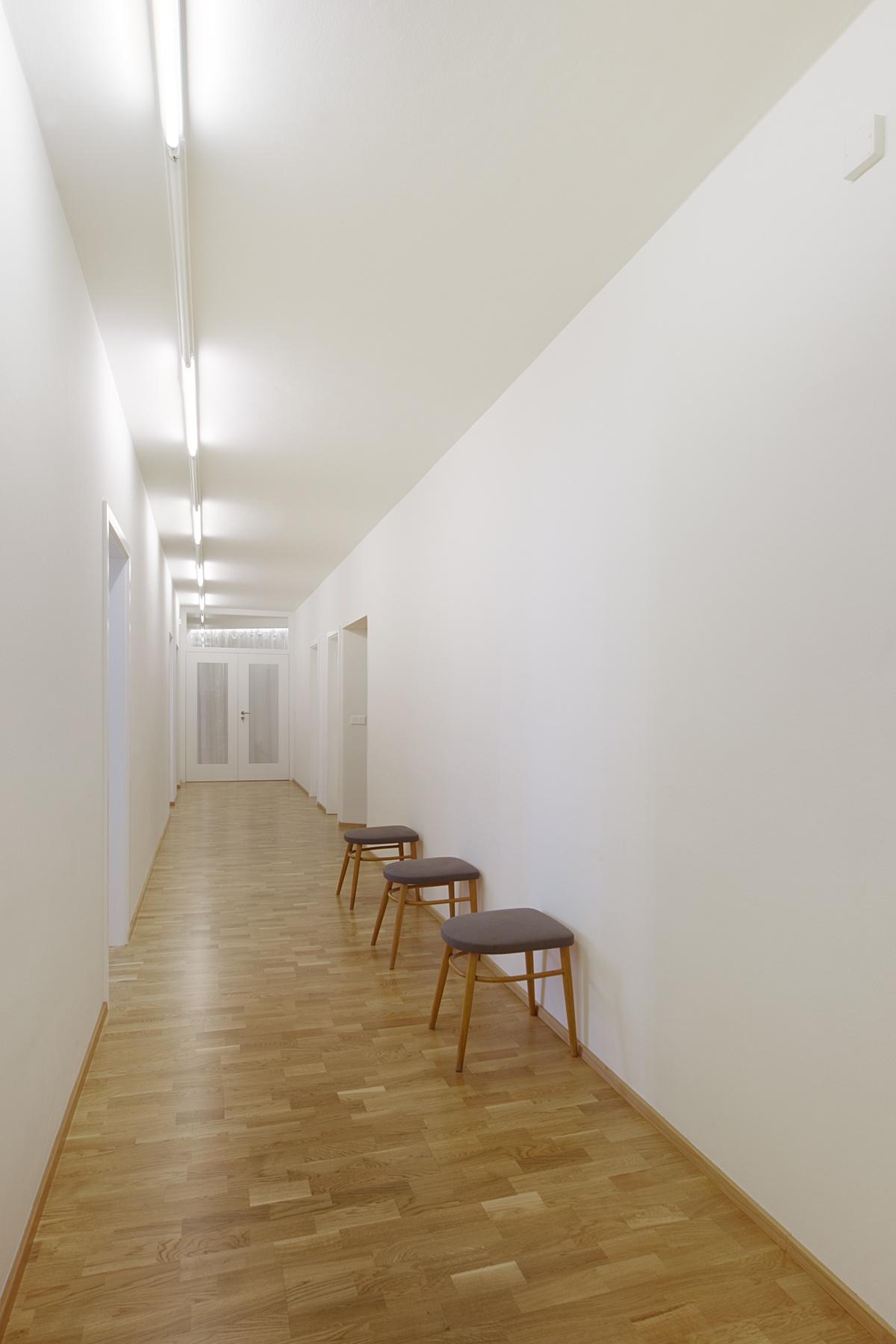 Dřevěné podlahy - taneční studio