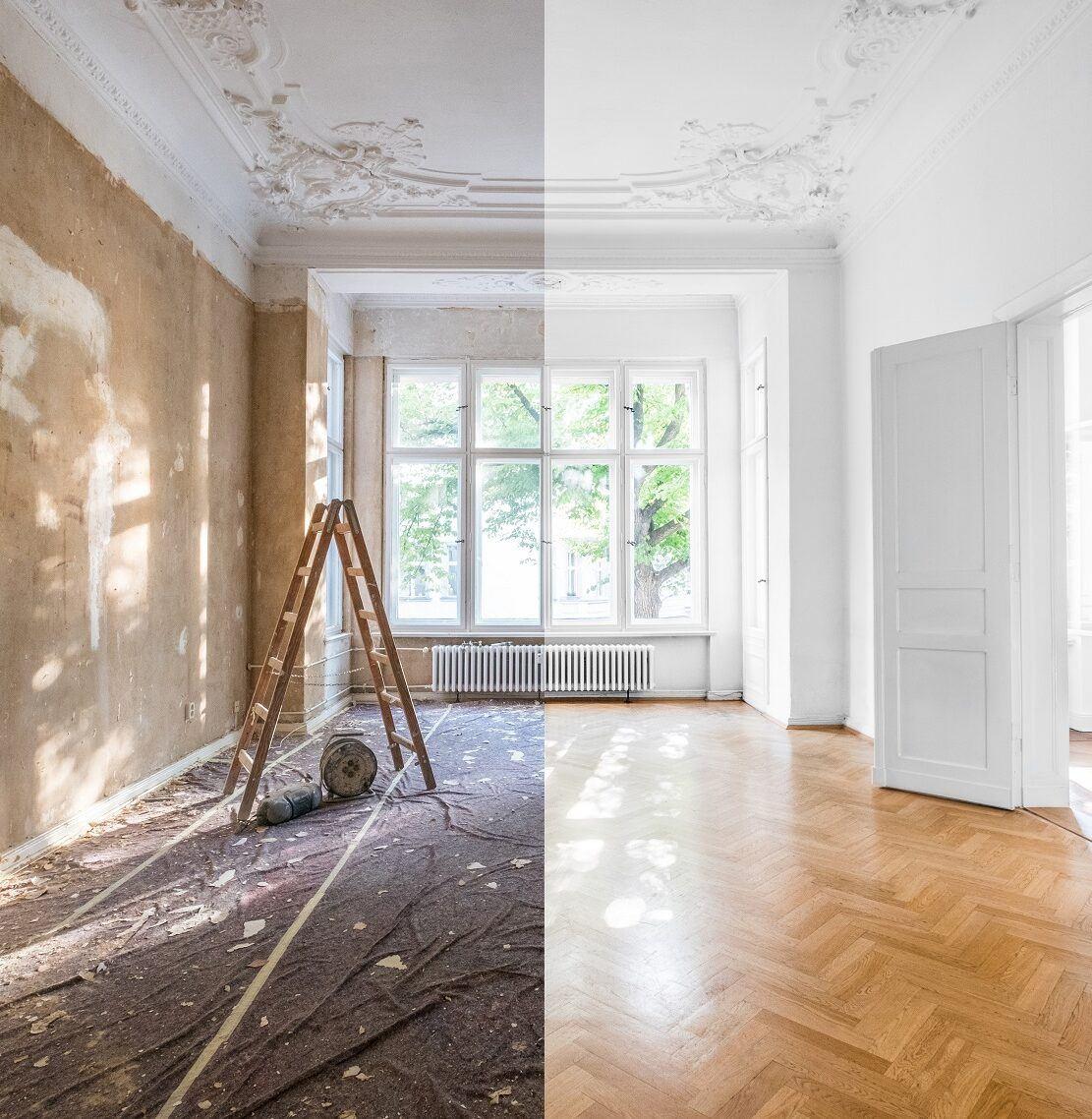 Proměna interiéru - parkety