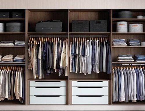 Vnitřní uspořádání vestavěných skříní