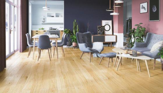 Třívrstvé dřevěné podlahy Pure Wood