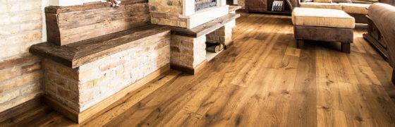 Vrstvené dřevěné podlahy